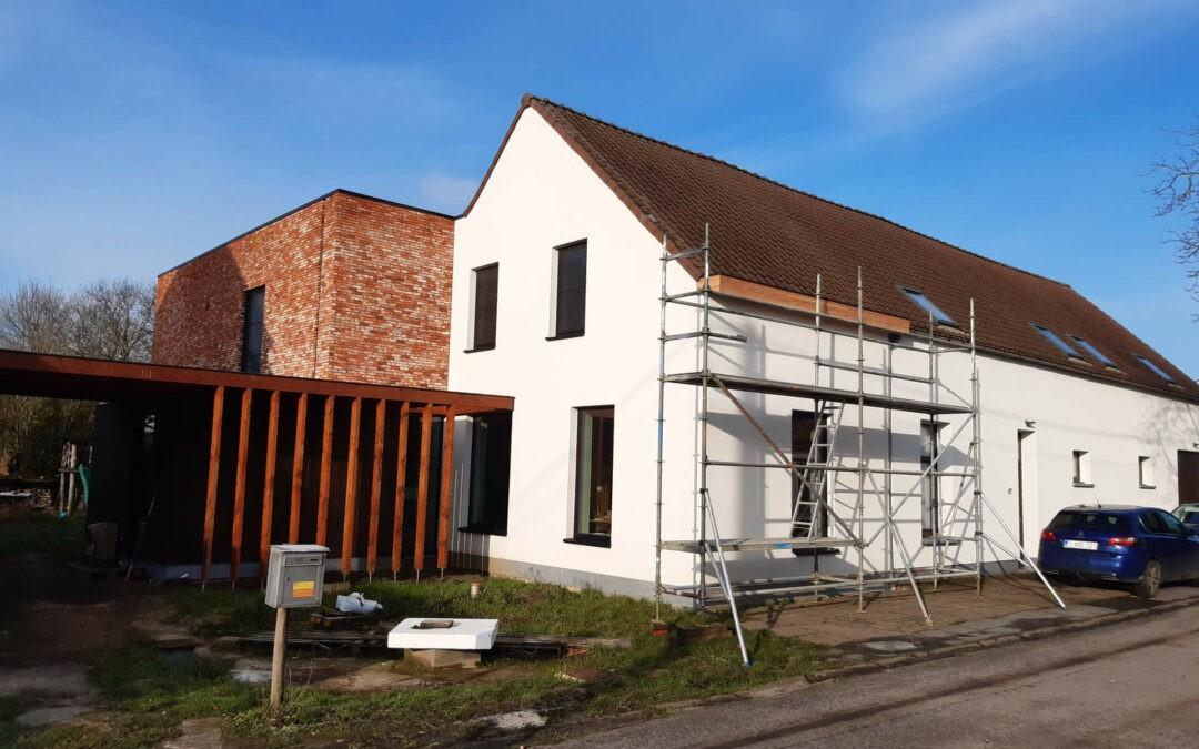 Verbouwing Borsbeek